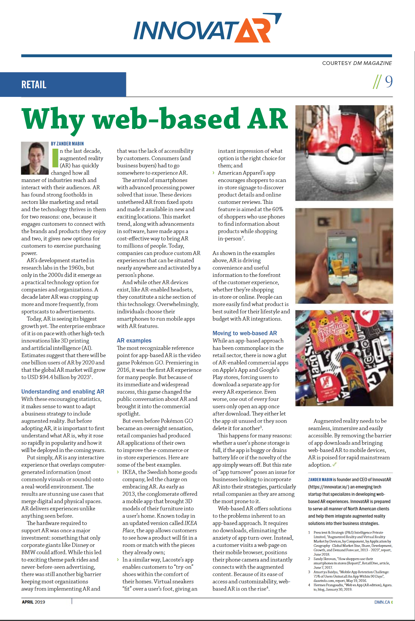 Why web-based AR